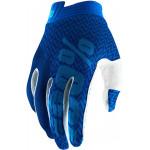 Мотоперчатки детские 100% ITrack Youth Blue/Navy M