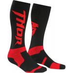 Носки Thor S6 Black/Red 10-13