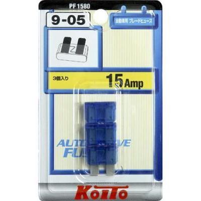 Предохранители Koito 15A, 1 шт.