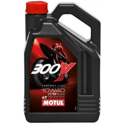 Масло моторное Motul 300V 4T Factory Line 10W40 4л