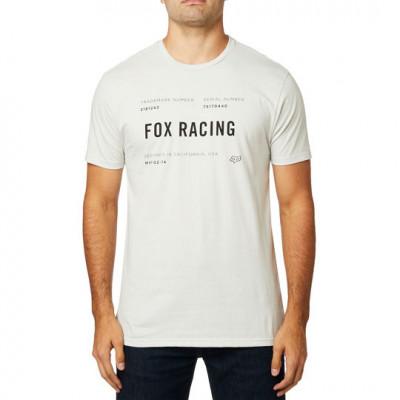 Футболка Fox Standart Issue SS Premium Tee Light Grey, оригинал, размер  S