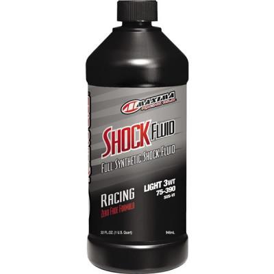 Масло для амортизаторов Maxima Synthetic Racing Shock Fluid-Light 75/390 3WT 0.946л