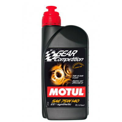 Масло трансмиссионное Motul Gear Compettition 75W140 100% Synt 1л