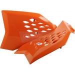 Обтекатель радиатора Polisport KTM SX65 09-15 оранжевый