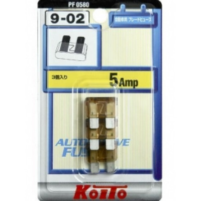 Предохранители Koito 5A, 3 шт.