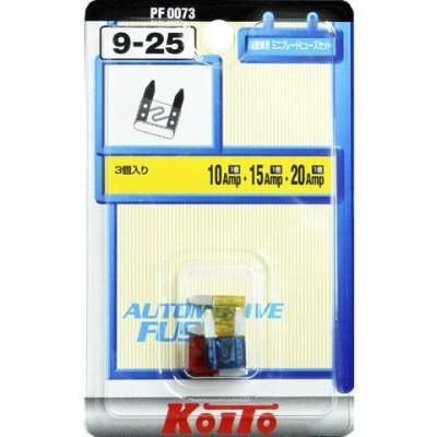 Предохранители Koito 10, 15, 20 А мини