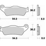 Колодки тормозные Braking 746CM44 (MCB648)