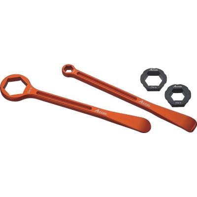 Набор сверхлегких монтажек - ключей для мотоцикла, 32,27, 22, 13,10 мм, Accel