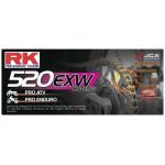 Цепь RK 520EXW 120 звеньев, до 750cc CL