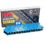 Цепь RK 525XSO 120BB CLF, синяя