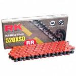 Цепь RK 525XSO 120RR CLF, красная