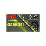 Цепь RK 530XSOZ1 120GB CLF, золото, до 1000сс