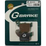 Колодки тормозные G-brake GM-01078S (MCB730)