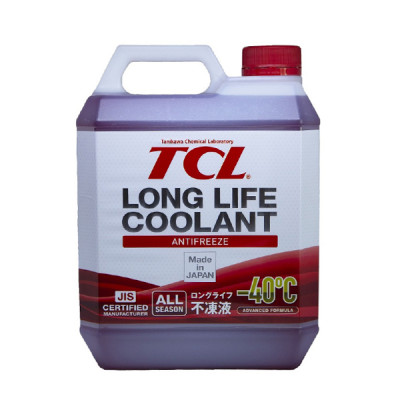 Жидкость охлаждающая TCL LLC -40C красный 2л