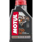 Масло моторное Motul 710 2T 1л