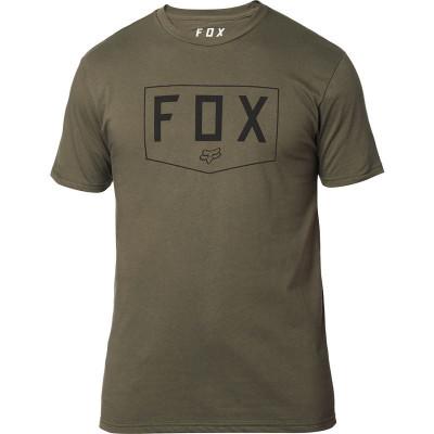 Футболка Fox Shield SS Premium Tee Olive Green, оригинал, размер  M