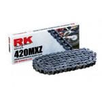 Цепь RK 420MXZ 120 звеньев, без сальников, до 150cc GB