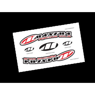 Набор логотипов Maxima на переднее крыло