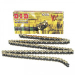 Цепь DID 530VX G&B, 118 звеньев, X-Ring, до 1000сс золото