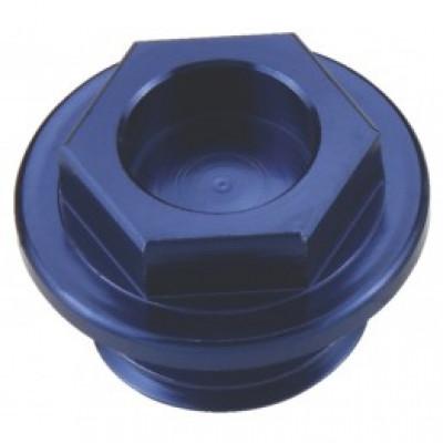 Болт для слива масла из ДВС CR/CRF/YZ/WR/KX/YZF, синий, Accel