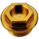 Болт для слива масла из ДВС RM/RMZ/RMX, золото, Accel