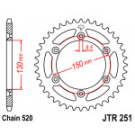 Звезда JT задняя JTR251.48 #520 Y WR250/450 YZ250/450