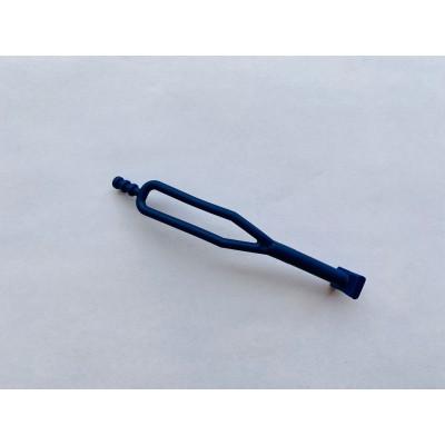 Петля подножки/аккумулятора (аналог) 145mm KTM Husqvarna 50303018000 Синяя