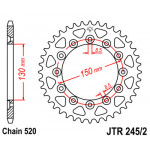 Звезда JT задняя JTR245/2.50 #520 Y WR250/450