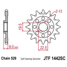 Звезда JT передняя JTF1442.13SC #520 S RMZ 250