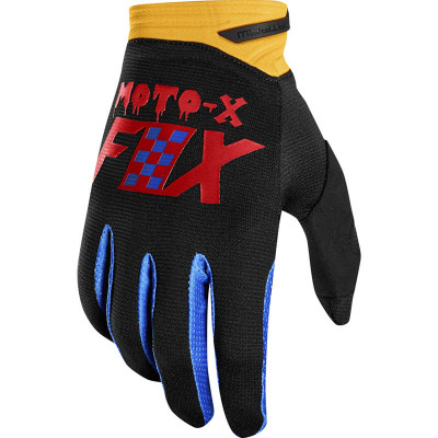 Перчатки Fox 2019 Dirtpaw Czar Glove Black/Yellow M