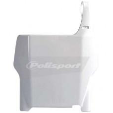 Передний щиток Polisport H CR125/250/CRF250/450R 04-07 белый