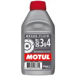 Жидкость тормозная Motul  DOT3&4 Brake Fluid -245C 0.5л