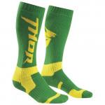 Носки Thor S6 Green/Yellow 10-13