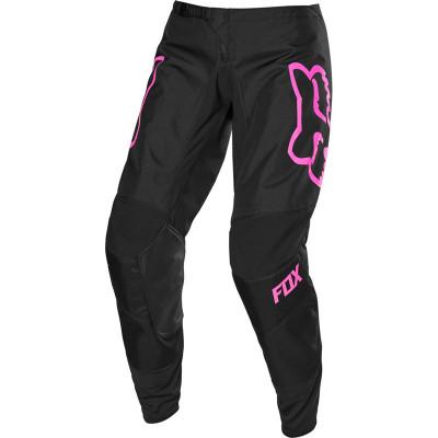 Мотоштаны кроссовые женские Fox 2020 180  Prix Black/Pink 8