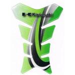 Наклейка на бак IXS Kawasaki зеленая