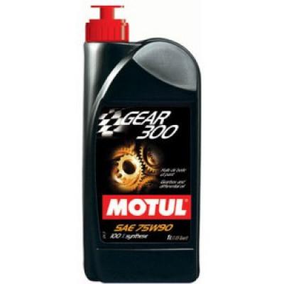 Масло трансмиссионное Motul Gear 300 75W90 100% Synt 1л