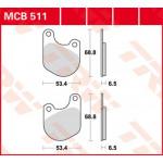 Колодки тормозные TRW MCB511 (Harley Davidson)