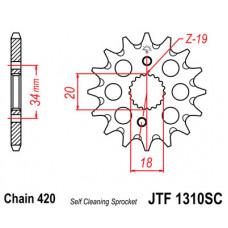 Звезда JT передняя JTF1310.15SC #420 H CRF150R