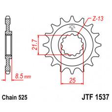 Звезда JT передняя JTF1537.17 #525 K Z1000 03-06 ZX9R 02-03