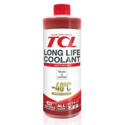 Жидкость охлаждающая TCL LLC -40C красный 1л