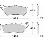 Колодки тормозные Braking 780CM55 (MCB671)