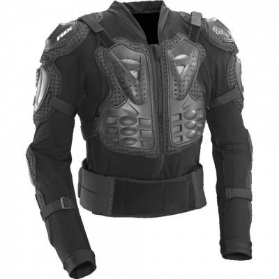 Защитная черепаха Fox Titan Sport черная M