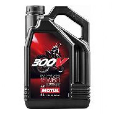 Масло моторное Motul 300V2 4T FL Road/Off Road 10W50 1л