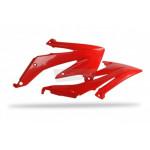 Обтекатель радиатора Polisport H CRF450R 05-08 красный