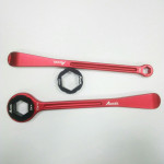 Набор сверхлегких монтажек - ключей для мотоцикла, 32,27, 22, 12,10 мм, Accel