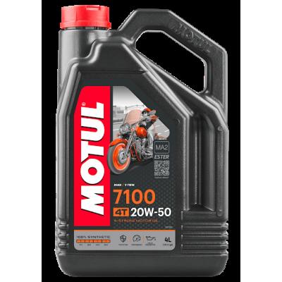 Масло моторное Motul 7100 4T 20W50 4л