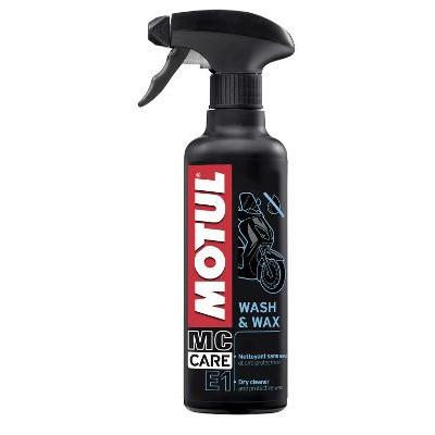 Очиститель Motul E1 Wash & Wax 0.4л