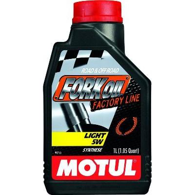 Масло вилочное Motul  Fork Oil light FL 5W 1л