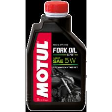 Масло вилочное Motul  Fork Oil Expert light 5W 1л